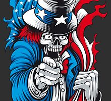 Uncle Dead Sam wants You! by fatlines
