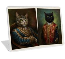 The Hermitage Court Outrunner Cat  Laptop Skin