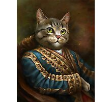 The Hermitage Court Outrunner Cat  Photographic Print