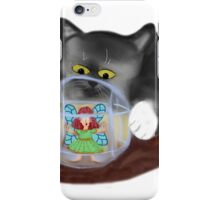 Kitty Rolls Fairy in a Hamster Ball iPhone Case/Skin