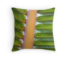 Palm colors Throw Pillow