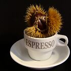 coffee with a chestnut  by anisja