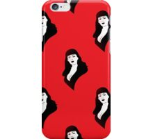 tura satana iPhone Case/Skin
