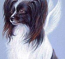 """""""Papillon angel"""" by Elena Kolotusha"""