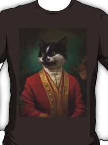 The Hermitage Court Waiter Cat T-Shirt