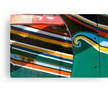 Colorful traditional fisherman boats Canvas Print