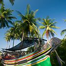 Colorful traditional fisherman boats by afby