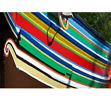 Colorful traditional fisherman boats Photographic Print