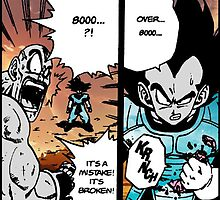 Dragon Ball Z Over 8000 by SpoilersCo