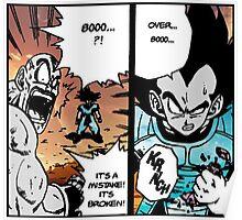Dragon Ball Z Over 8000 Poster