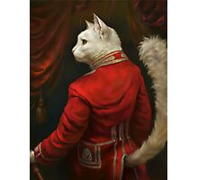 The Hermitage Court Chamber Herald Cat Photographic Print
