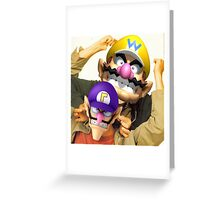 Wario & Waluigi Greeting Card