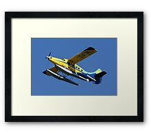 Mechanical Bird: DeHavilland DHC-3 Turbine Single Otter Framed Print