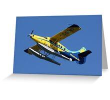 Mechanical Bird: DeHavilland DHC-3 Turbine Single Otter Greeting Card