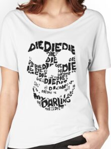 Die Die My Darling Sticker Women's Relaxed Fit T-Shirt