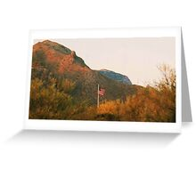our flag! Greeting Card