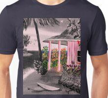 Pink Beach Cottage @ Nite Unisex T-Shirt