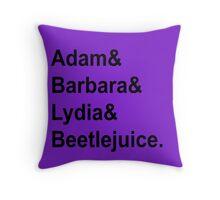 The Maitlands Throw Pillow