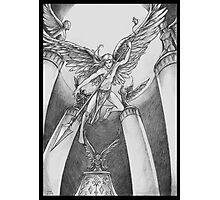Avenging Angel Photographic Print