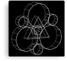 Coheed's Keywork in 3D - Basic Canvas Print
