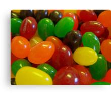 Starburst Jelly Beans Canvas Print