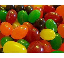 Starburst Jelly Beans Photographic Print