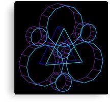 Coheed's Keywork in 3D- Serene Canvas Print