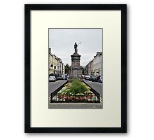 The Pikeman, Denny St., Tralee, Ireland Framed Print
