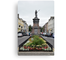 The Pikeman, Denny St., Tralee, Ireland Canvas Print