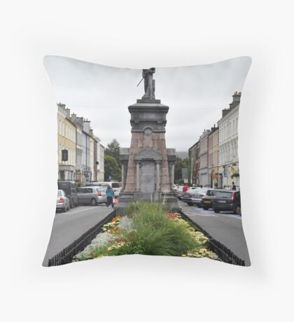 The Pikeman, Denny St., Tralee, Ireland Throw Pillow