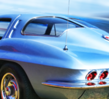 Speed,Style,......And Beauty ( 63 Vette ) Sticker