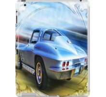 Speed,Style,......And Beauty ( 63 Vette ) iPad Case/Skin