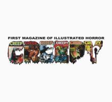 Creepy Magazine by Fitcharoo