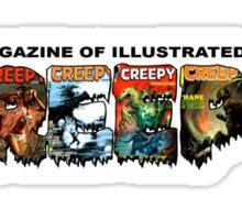 Creepy Magazine Sticker