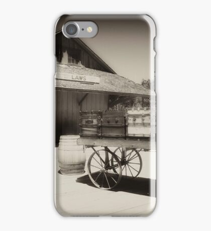 Laws Railroad Station iPhone Case/Skin