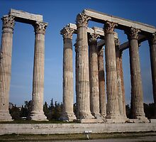 Olympian Temple Of Zeus by Quincifer