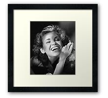 Wendy Smokin' 1940s Framed Print