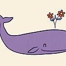 Peace Whale by Terry  Fan