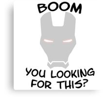 War Machine Avengers 2 Age of Ultron Canvas Print