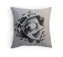 DESCRIPTIVE HYPOTHESIS OF THE MOVEMENT OF A DREAM Throw Pillow