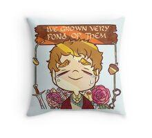 Bilbo's Goodbye Throw Pillow