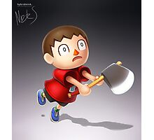 Villager Photographic Print