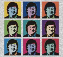 Stephen Fry (Andy Warhol) by Brandon Gregory