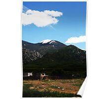 Taos Mountain Poster