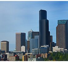 Cityscape of Seattle Photographic Print