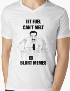 Snart Bart Fan-Art #2 (AKA Jet Fuel Can't Melt Blart Memes) Mens V-Neck T-Shirt