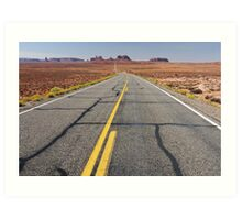 monument valley, i-163, utah, usa Art Print