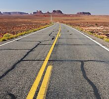monument valley, i-163, utah, usa by upthebanner