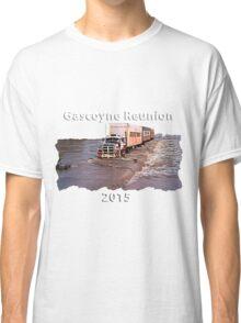 Gascoyne Reunion white writing Classic T-Shirt