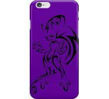 pokemon mega mewtwo mew anime shirt iPhone Case/Skin